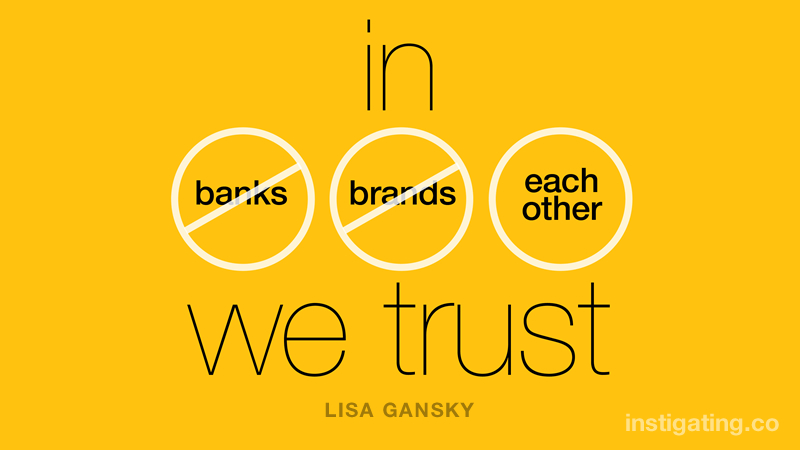 Image result for in each other we trust instigating
