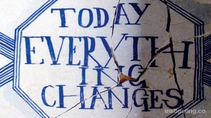 today everything changes - LISA GANSKY
